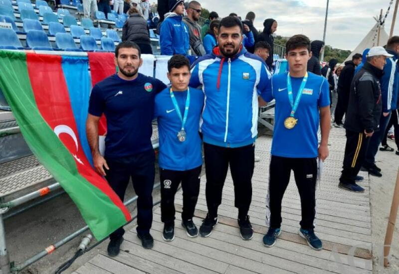 Азербайджанский борец завоевал золото на первенстве мира