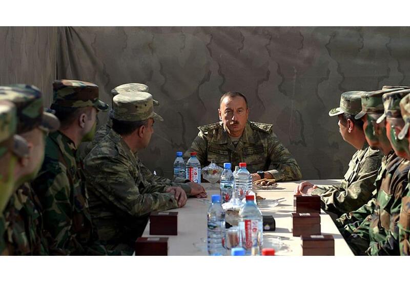 Президент Ильхам Алиев: Все 44 дня мы шли только вперед