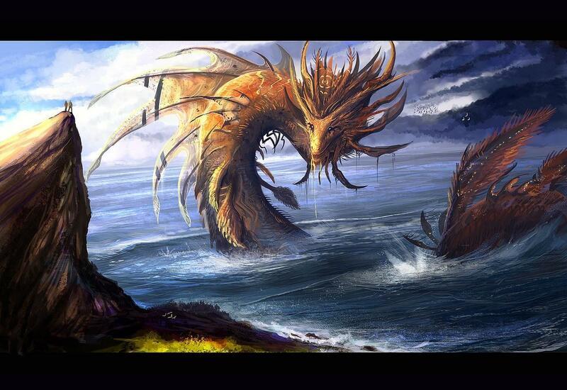 На картах Google разглядели «морского дракона»