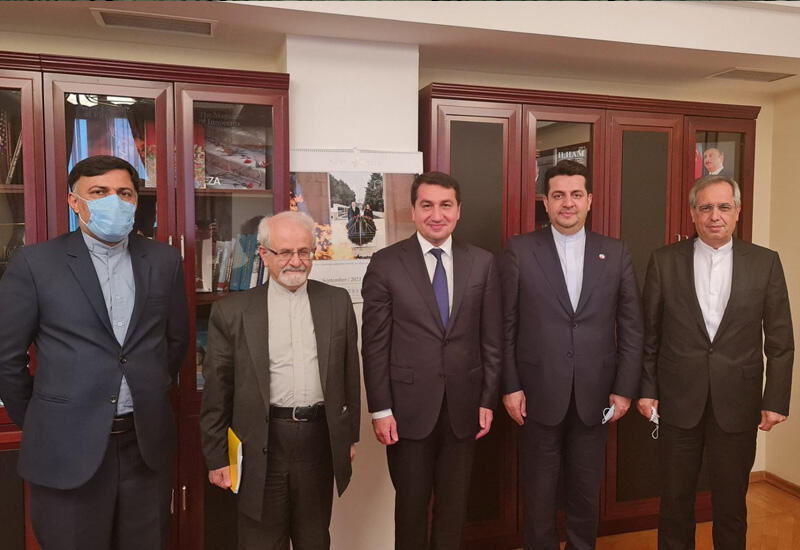 Хикмет Гаджиев провел обсуждения с замглавы МИД Ирана