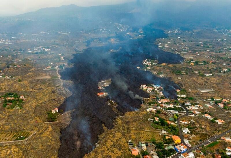 Извержение вулкана на острове Пальма поставило под угрозу урожай бананов