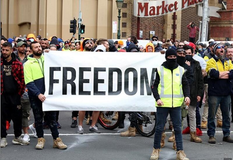 В Австралии наступил ковид-фашизм: полиция грубо задерживает несогласных