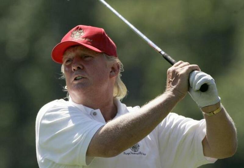 75-летний Трамп показал прекрасную физическую форму во время игры в гольф