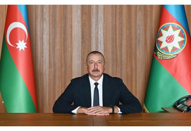 На ежегодных общих дебатах 76-й сессии Генеральной Ассамблеи ООН представлено выступление Президента Азербайджана Ильхама Алиева в видеоформате