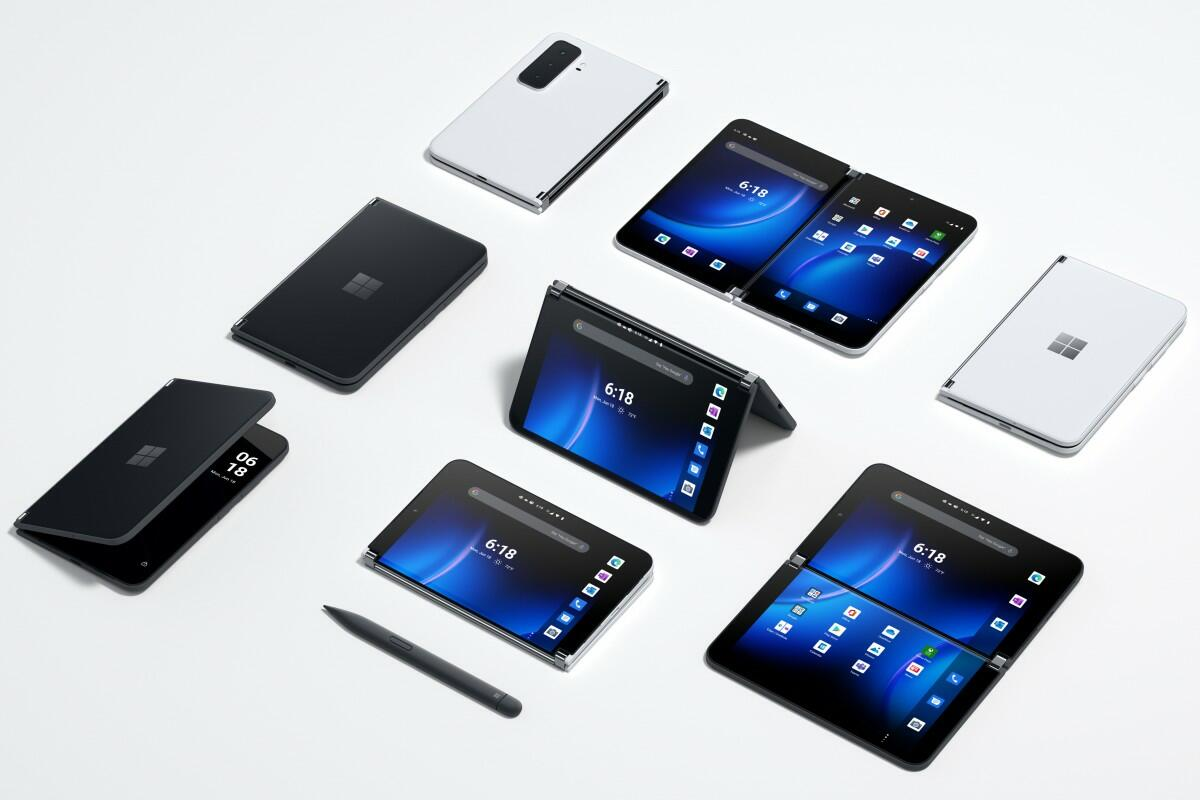 Microsoft представила складной смартфон