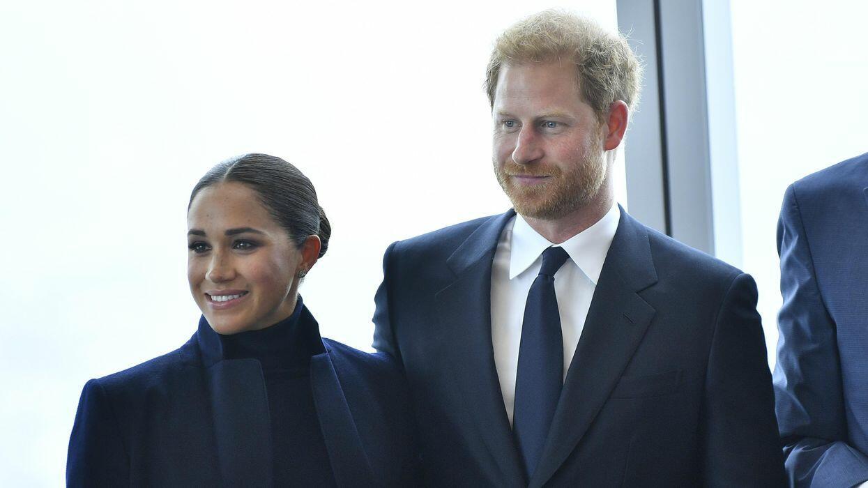 Принц Гарри и Меган Маркл впервые после рождения дочери вместе вышли в свет