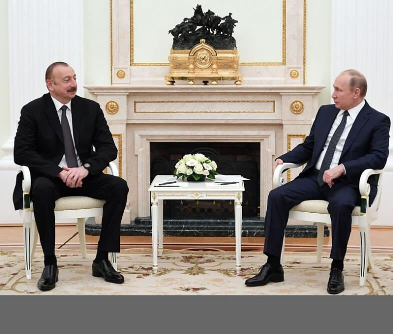 """Президент Ильхам Алиев дал интервью авторитетному российскому журналу """"Национальная оборона"""""""