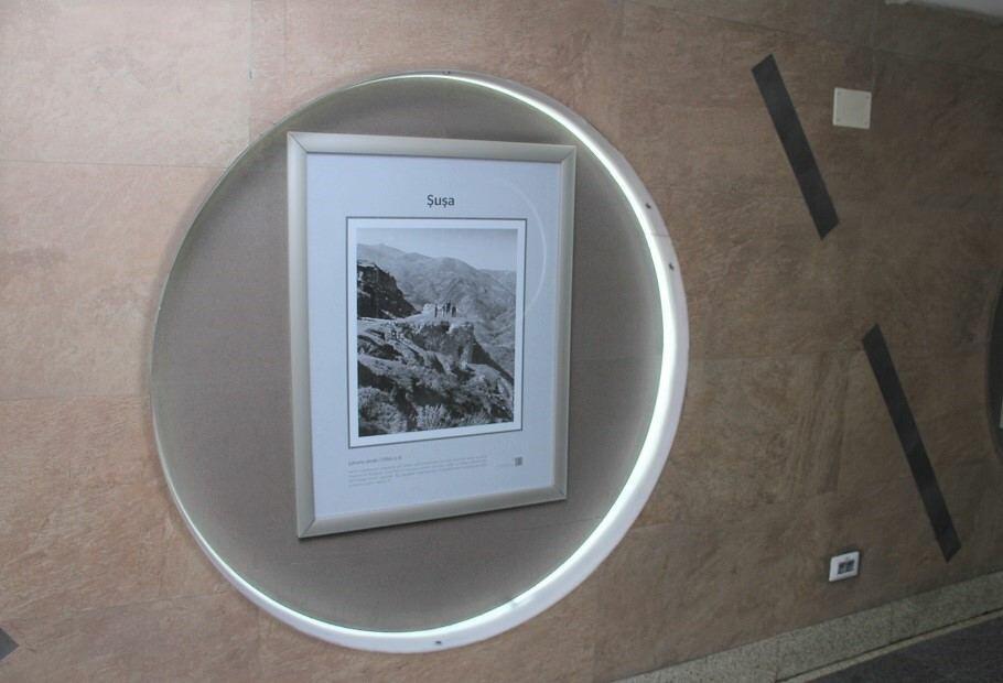 На одной из станций метро Баку открылась фотовыставка, посвященная Карабаху
