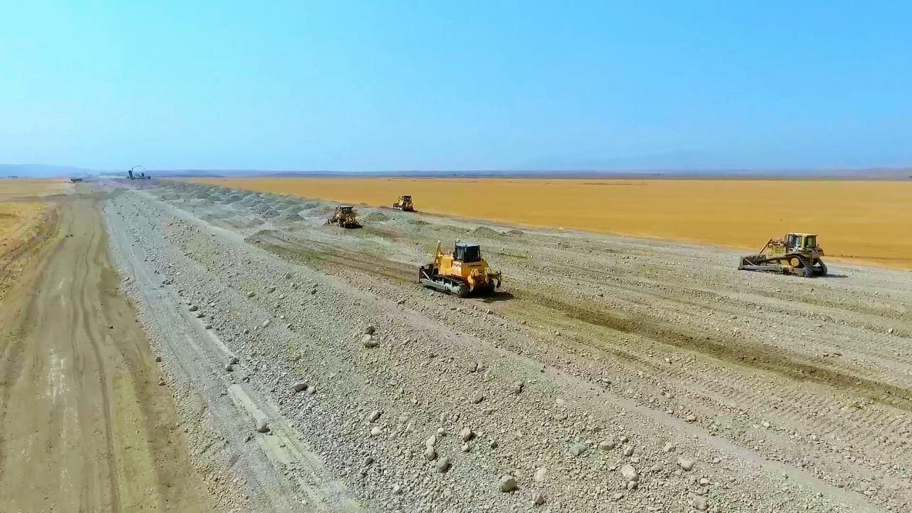Вот как строится дорога Горадиз-Джебраил-Зангилан-Агбенд