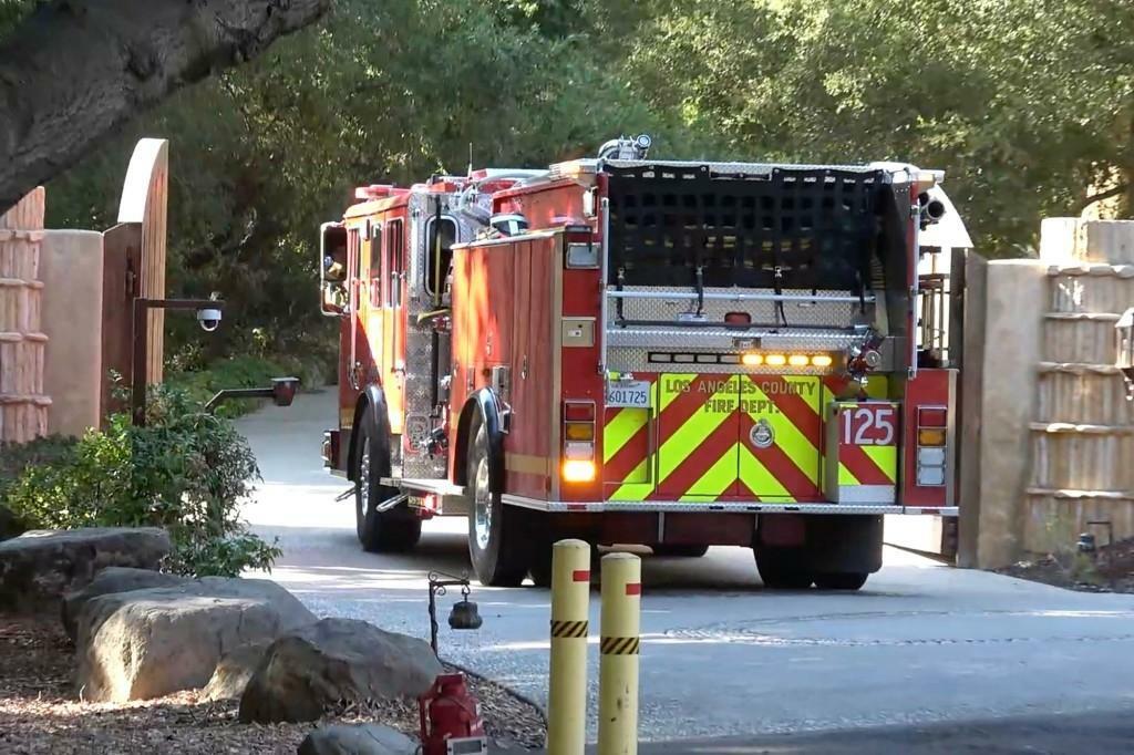 В поместье Уилла Смита случился пожар