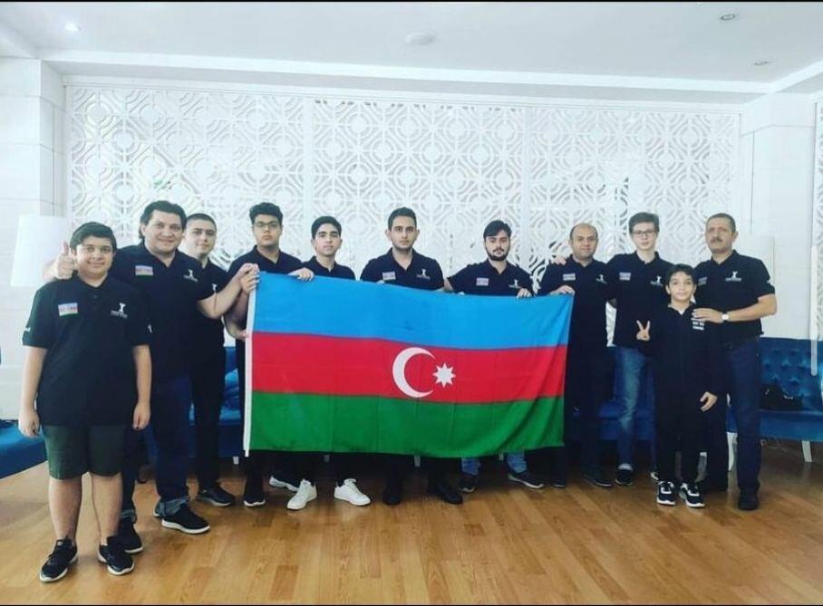 Команда «Вугар Гашимов» завоевала бронзовую медаль клубного Кубка Европы