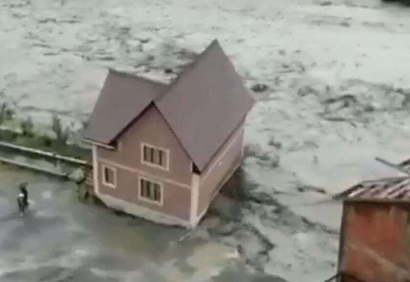 Жуткие последствия сильных ливней в Дагестане