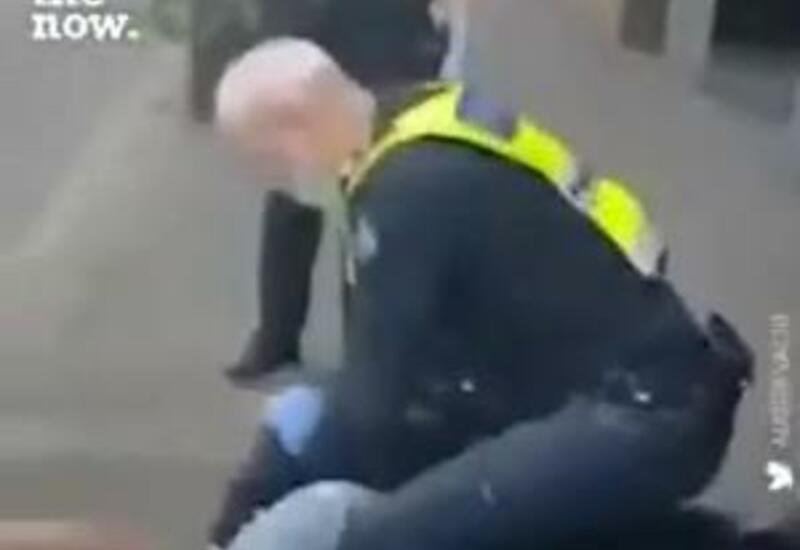Задержание девушки без маски в Мельбурне всколыхнуло мировые соцсети