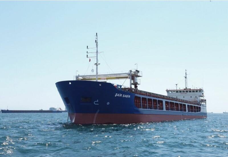 Азербайджанское судно «Шаир Сабир» вышло в первый рейс после капремонта