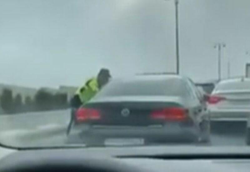 В Баку задержан автохулиган, повредивший до 10 машин