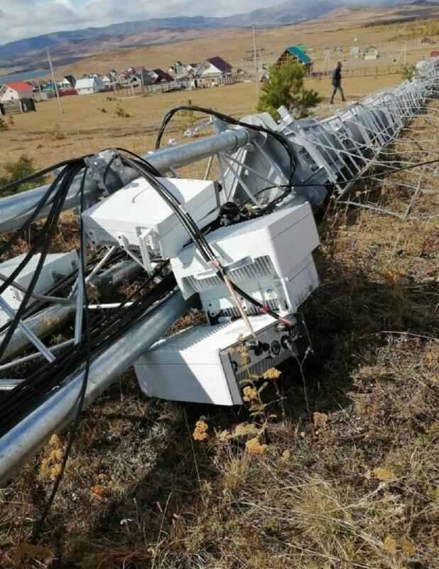 Жители села в Башкирии испугались «излучения» от 5G и снесли вышку сотовой свзи