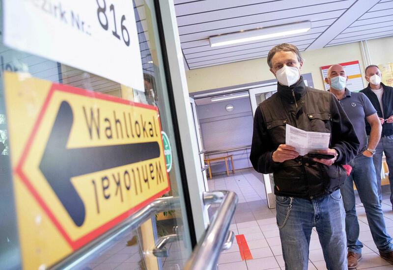 Явка на выборах в бундестаг в Берлине к полудню составила более 27%
