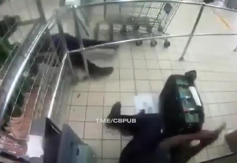 Бандиты в Бразилии напали на инкассаторов
