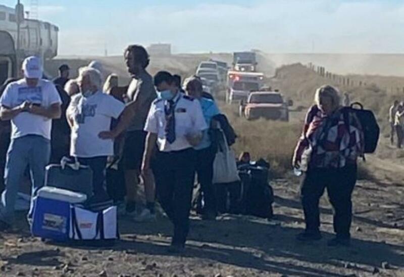 При крушении поезда в США пострадали 50 человек