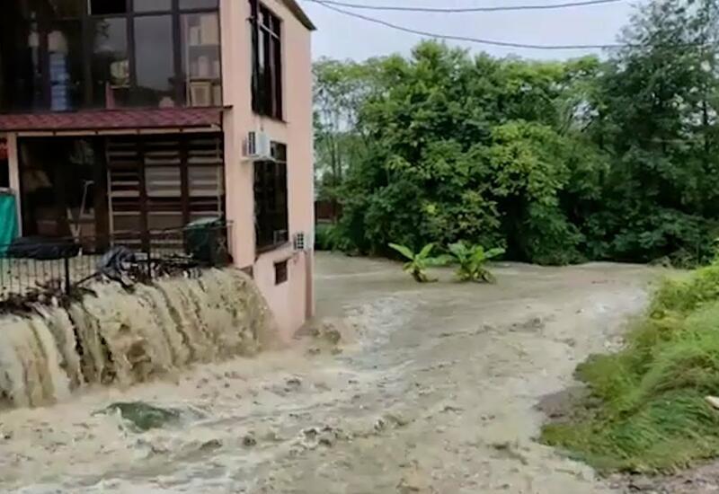 Центр Китая уходит под воду
