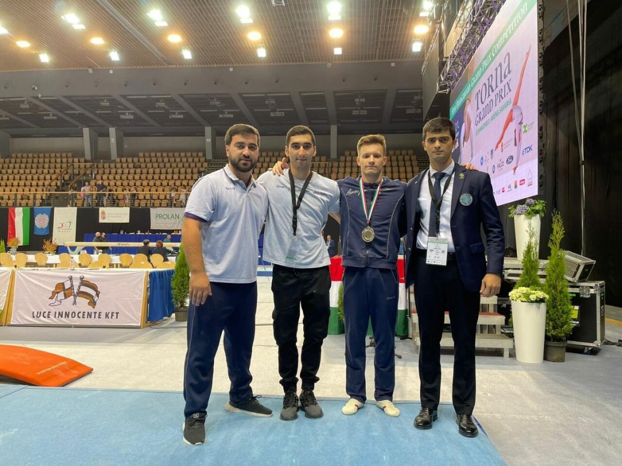 Азербайджанский гимнаст завоевал золотую медаль на Гран-при в Венгрии