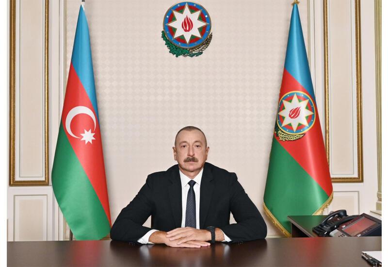 Президент Ильхам Алиев выступил с обращением к народу в связи с Днем памяти