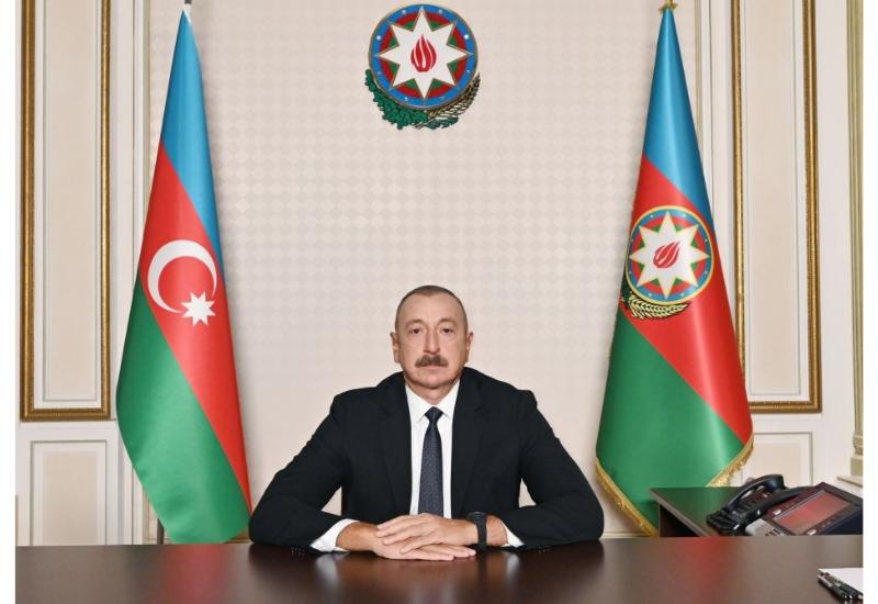Президент Ильхам Алиев: Мы поставили врага на колени и вынудили его подписать акт о капитуляции