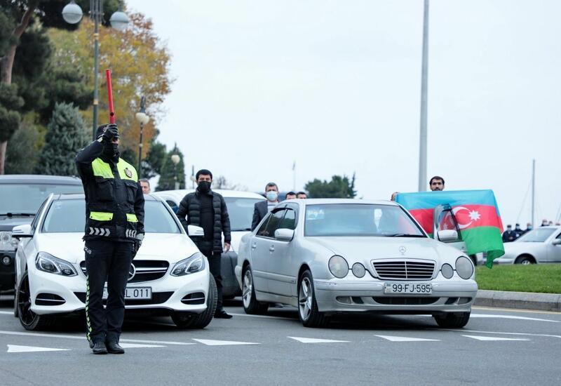 Сегодня в 12:00 на всей территории Азербайджана будет приостановлено движение транспорта
