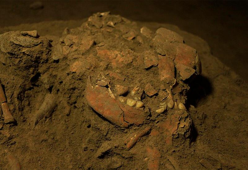 Окаменелые кости древнего человека обнаружили в Китае