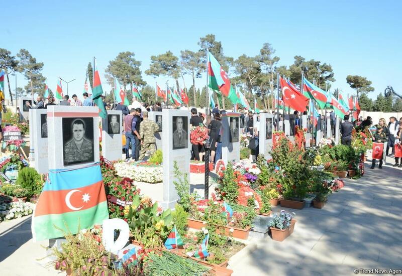 Представлено произведение в память о шехидах Карабахской войны