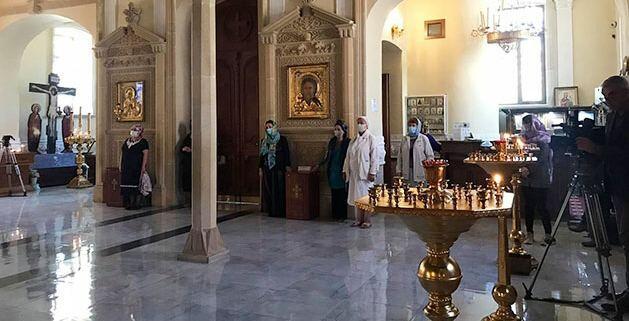В Кафедральном соборе Святых Жен-Мироносиц в Баку почтили память шехидов Отечественной войны