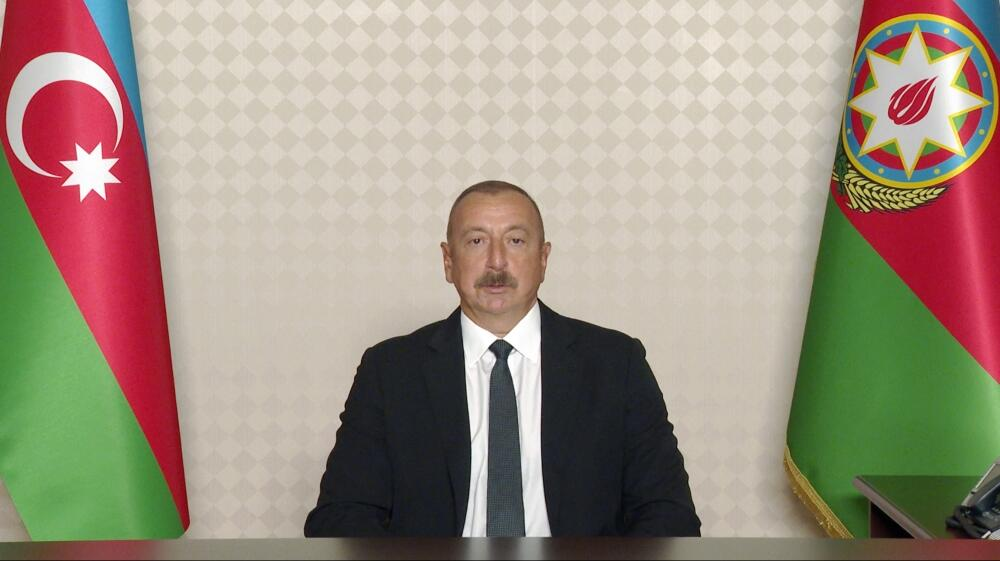 Президент Ильхам Алиев дал интервью телеканалу France 24