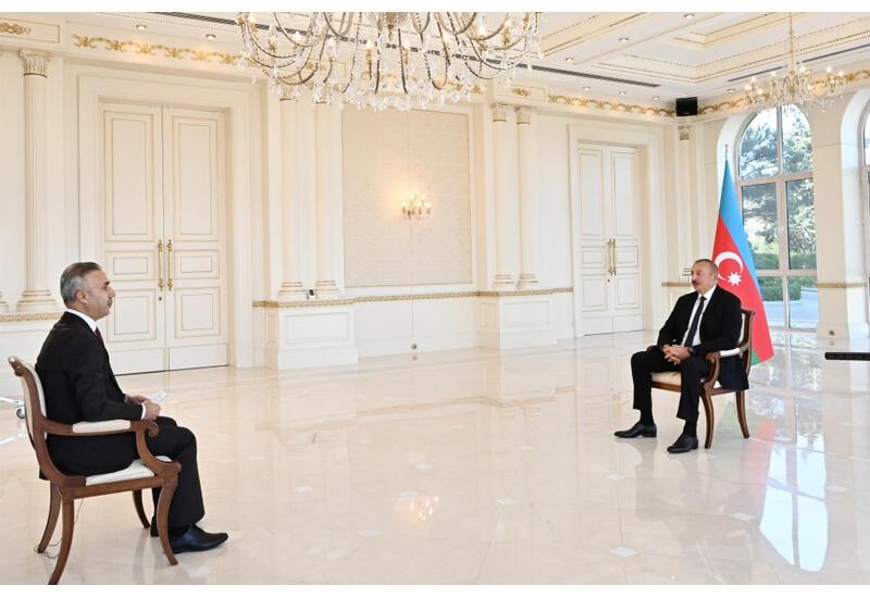 Президент Ильхам Алиев: Пусть Армения посмотрит на карту и найдет свое место, если сможет найти, это точка на карте