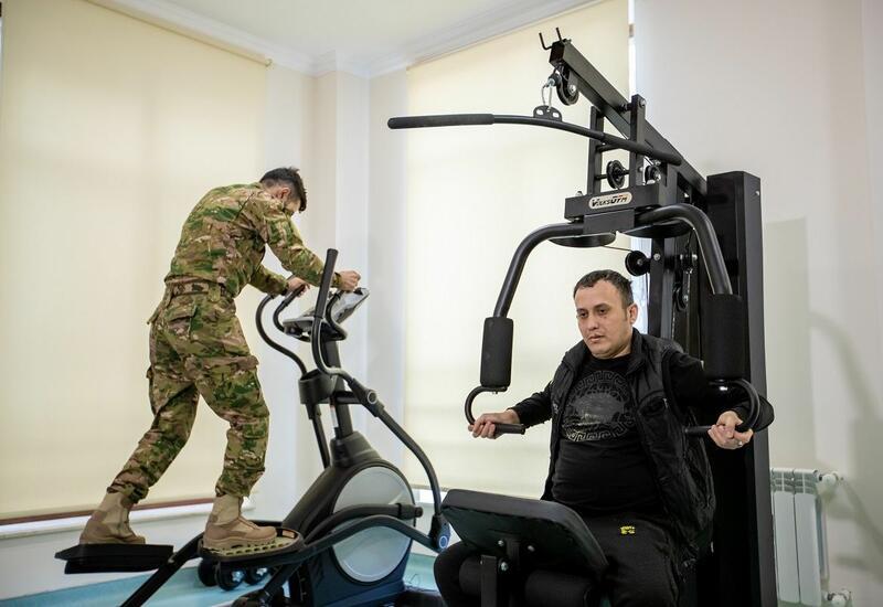 В санаторно-курортном реабилитационном центре в Баку прошли лечение 1300 ветеранов войны