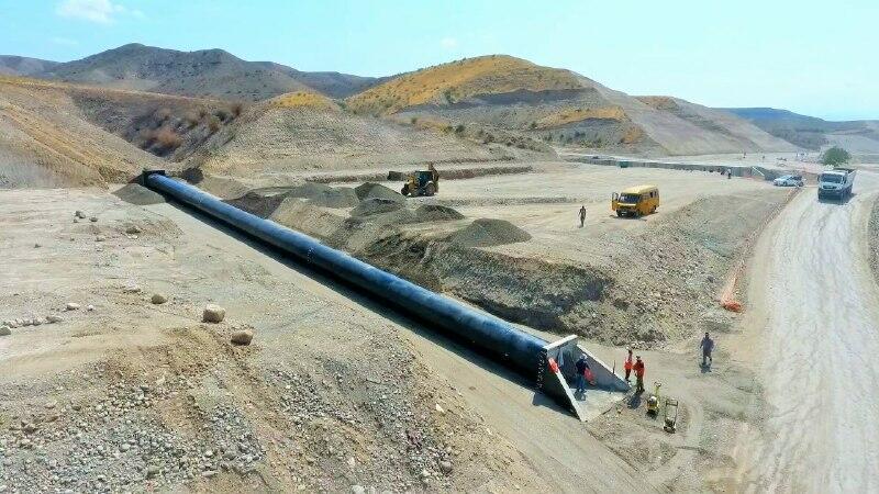 Xudafərin-Qubadlı-Laçın və Xanlıq-Qubadlı avtomobil yollarının inşası sürətlə davam etdirilir