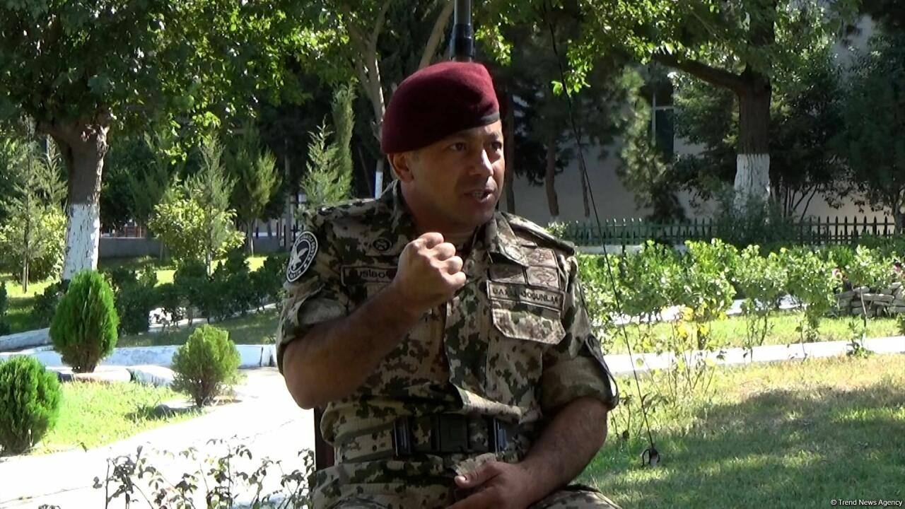 Непоколебимая решимость Президента, Верховного главнокомандующего Ильхама Алиева придавала нам силы в боях
