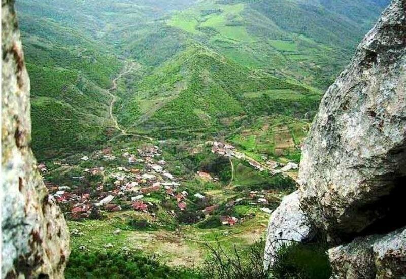 Вид на село Дашалты в блоге фотографа Орхана Азима