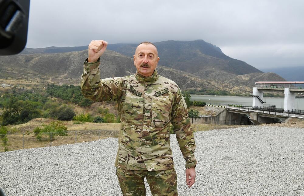 Президент Ильхам Алиев посетил Тертерский и Бардинский районы