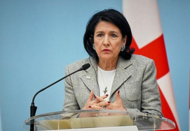 Президент Грузии дала оценку прошедшим выборам