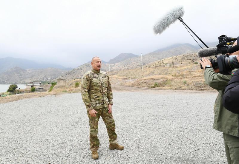 Президент Ильхам Алиев: Освобождение села Талыш и Суговушана давало нам большое моральное преимущество