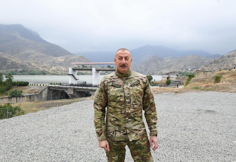 Президент Ильхам Алиев: Среди дезертиров был и бывший президент Армении Сержик Саргсян