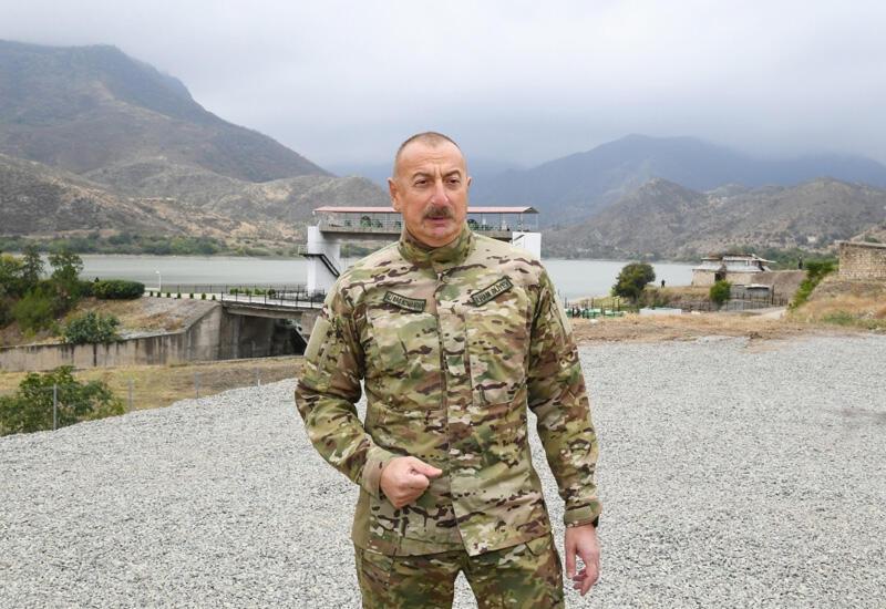 Президент Ильхам Алиев: Именно Сержик Саргсян и такие, как он, проиграли войну