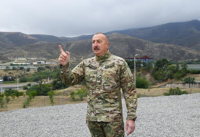 Президент Ильхам Алиев: Сержик, если ты мужчина, появись здесь. А то, кукарекая там, в Иреване, ты не сможешь сотворить из себя героя