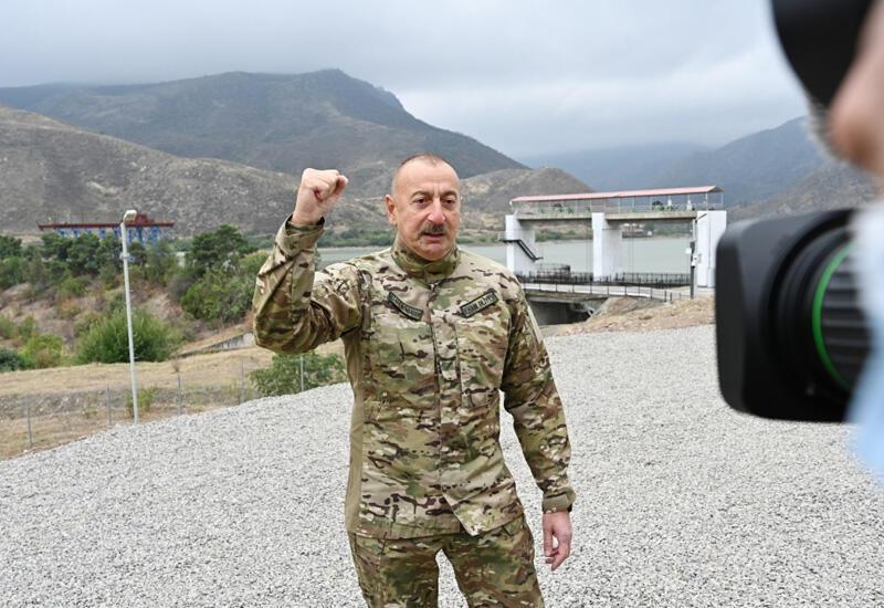 Предупреждение от Президента Ильхама Алиева реваншистам в Армении: Если еще раз против нас будет совершена какая-то провокация, то мы разобьем вам голову ни на что ни глядя