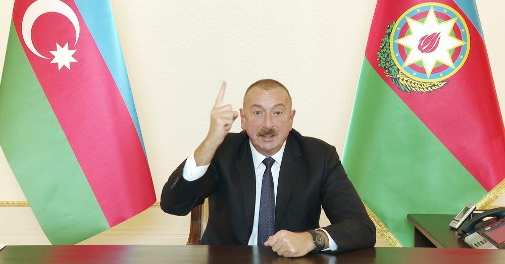 Хроника Победы: Обращение Президента Ильхама Алиева к азербайджанскому народу в связи с освобождением от оккупации города Джебраил 4 октября 2020 года