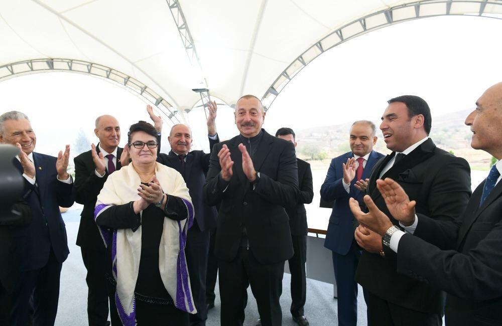 Трогательные моменты со встречи Президента Ильхама Алиева с представителями общественности Джебраила