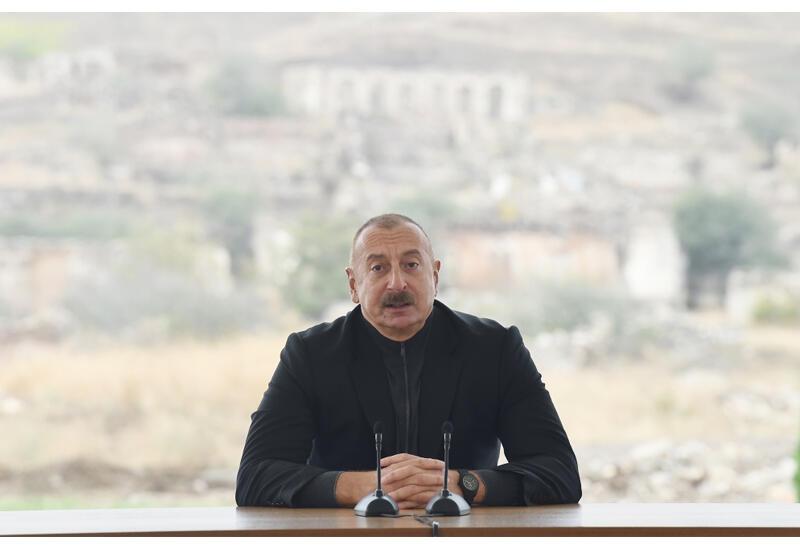 Президент Ильхам Алиев: На венской встрече глав МИД стран-сопредседателей Минской группы мне дали текст заявления, я сказал, что не стану подписывать это