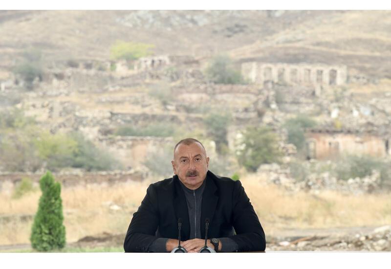 Президент Ильхам Алиев: Мы одержали победу, создали новую реальность, и каждый должен и будет считаться с этой реальностью