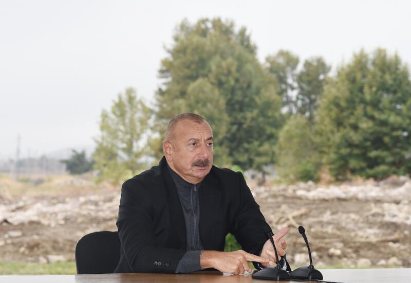 Президент Ильхам Алиев: Освобождение Джебраила началось еще пять лет назад