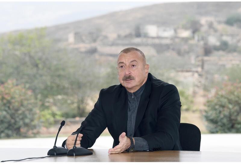 Президент Ильхам Алиев: Необоснованные обвинения против нас не останутся без ответа